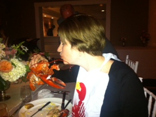 The lobster and I